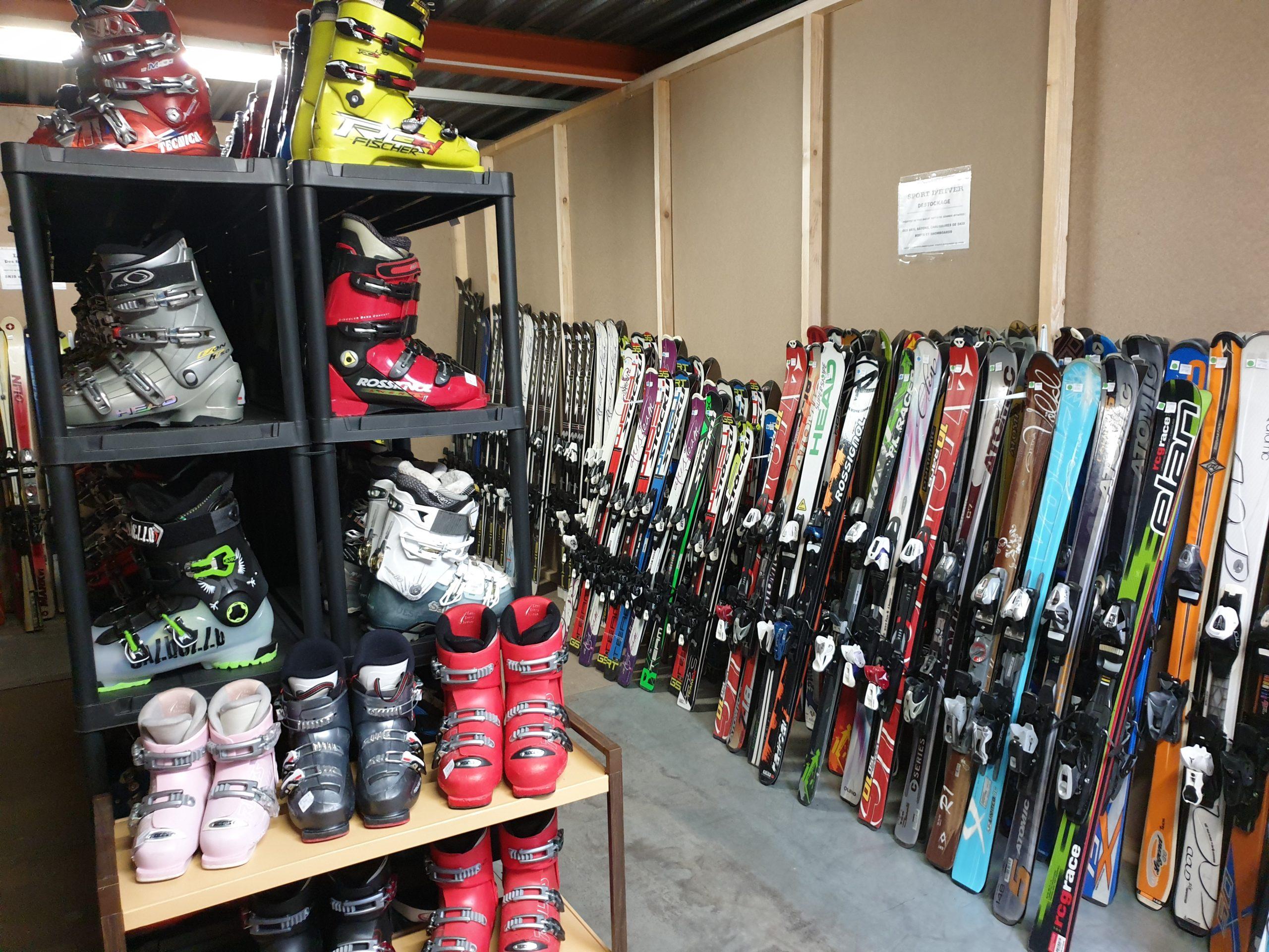 PORTES OUVERTES : Samedi 19 Septembre : Skis chaussures snowboards bottes pas cher