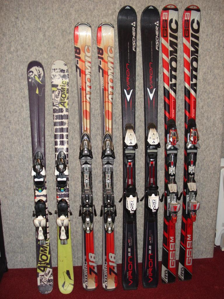 Paires de skis