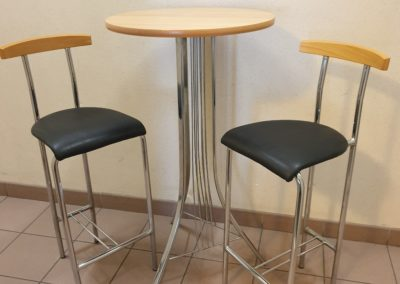 Tables hautes & Chaises