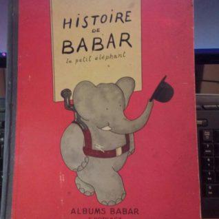 Histoire de Babar le petit éléphant - 1939