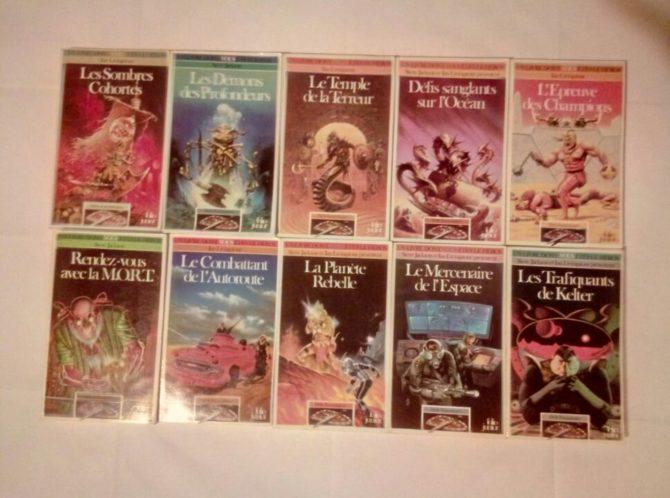 """Livres dont vous êtes le héros - """"Défis Fantastiques"""""""