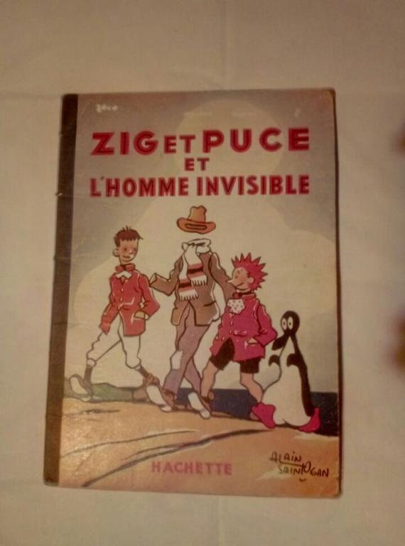 Zig et Puce et l'homme invisible