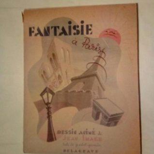 Fantaisie à Paris - Jean Image - Editions Delagrave 1945